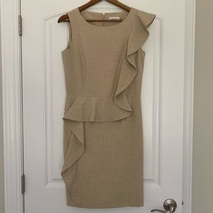 Calvin Klein Tan Dress